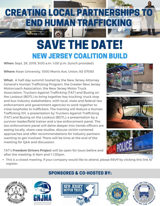 NJ Coalition Build to Combat Human Trafficking - Our